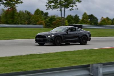 2021 SCCA TNiA Pitt Race Interm Blk Mustang 1