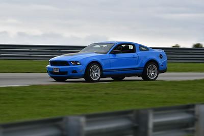 2021 SCCA TNiA Pitt Race Nov Blu Mustang