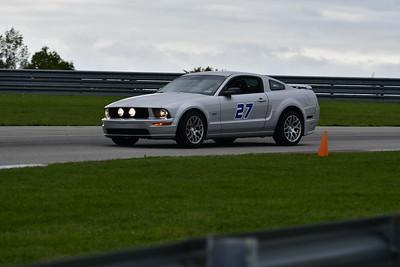 2021 SCCA TNiA Pitt Race Nov Silver Mustang