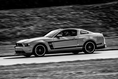 2021 SCCA Pitt Race Adv Orange Mustang