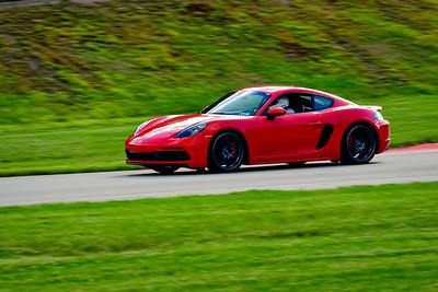 2021 SCCA Pitt Race Adv Red Porsche