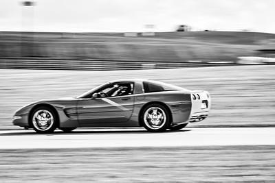 2021 SCCA Pitt Race Adv Red Vette