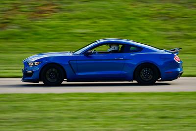 2021 SCCA Pitt Race Int Blu Mustang