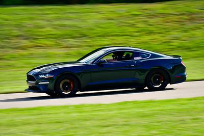2021 SCCA Pitt Race Int Dk Green Mustang