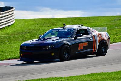 2021 SCCA Pitt Race Nov Blk Camaro