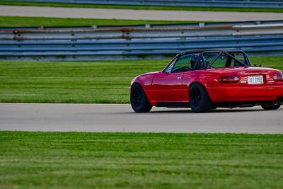 2021 SCCA Pitt Race Nov Red Miata