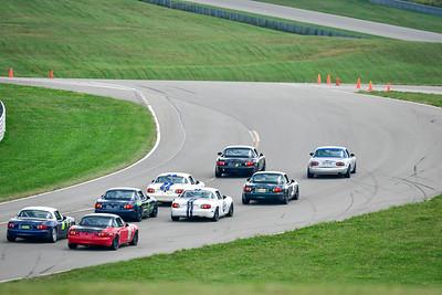 2021 SCCA Pitt Race CR Sun Grp 1 Start