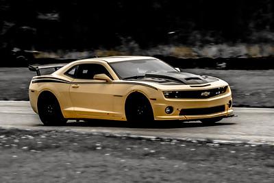 21 SCCA TNiA Nelson Adv Yellow Camaro