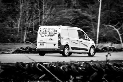 21 SCCA TNiA Nelson White Transit Van