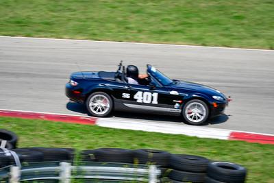 2021 SCCA Pitt Race TT Tour Blk Miata 401