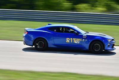2021 SCCA Pitt Race TT Tour Blu Camaro 11-21