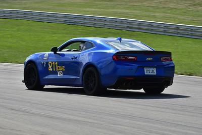 2021 SCCA Pitt Race TT Tour Blu Camaro 11-24