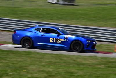 2021 SCCA Pitt Race TT Tour Blu Camaro 11-3