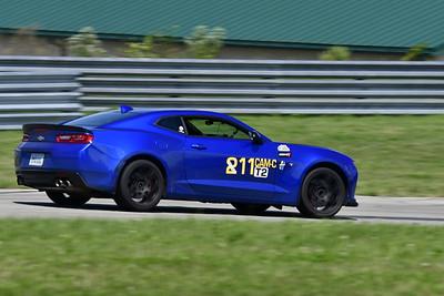 2021 SCCA Pitt Race TT Tour Blu Camaro 11-10
