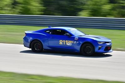 2021 SCCA Pitt Race TT Tour Blu Camaro 11-16