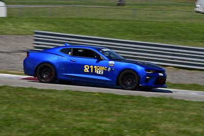 2021 SCCA Pitt Race TT Tour Blu Camaro 11-1