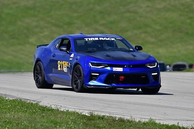 2021 SCCA Pitt Race TT Tour Blu Camaro 11-6