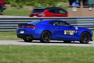 2021 SCCA Pitt Race TT Tour Blu Camaro 11-7
