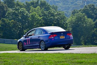 2021 SCCA Pitt Race TT Tour Blu Civic 11