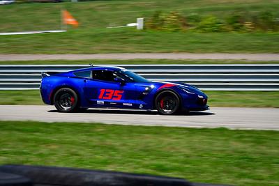 2021 SCCA Pitt Race TT Tour Blu Vette 135