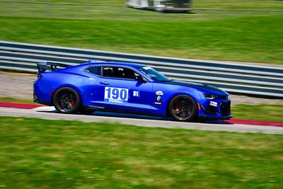 2021 SCCA Pitt Race TT Tour Blu Camaro 190