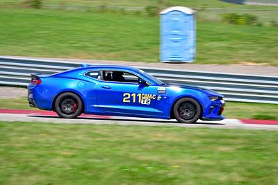2021 SCCA Pitt Race TT Tour Blu Camaro 211