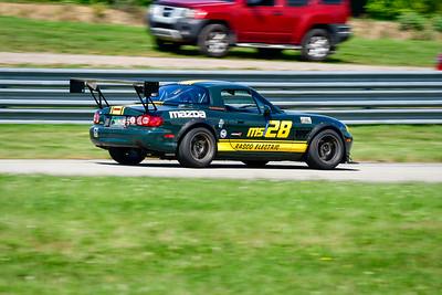 2021 SCCA Pitt Race TT Tour Green Miata 128