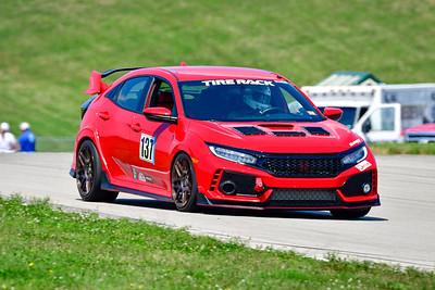 2021 SCCA Pitt Race TT Tour Red Civic 137