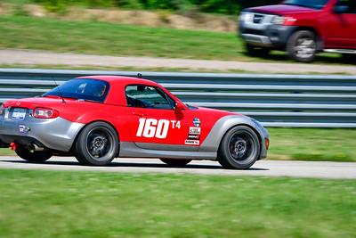 2021 SCCA Pitt Race TT Tour Red Miata 160