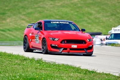 2021 SCCA Pitt Race TT Tour Red Mustang 927