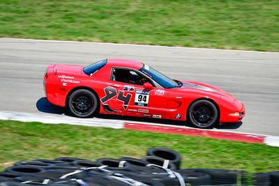 2021 SCCA Pitt Race TT Tour Red Vette 94