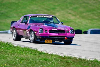 2021 SCCA Pitt Race TT Tour Purple Camaro 87