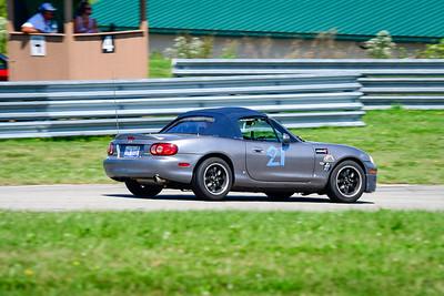 2021 SCCA Pitt Race TT Tour Silver Miata 21