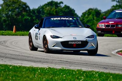 2021 SCCA Pitt Race TT Tour Silver Gray Lt Miata 85