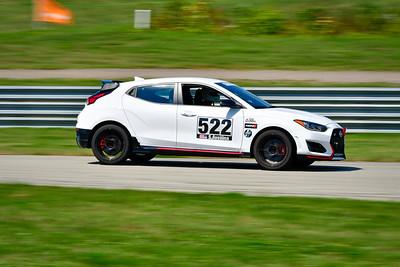 2021 SCCA Pitt Race TT Tour White Hyundai 522