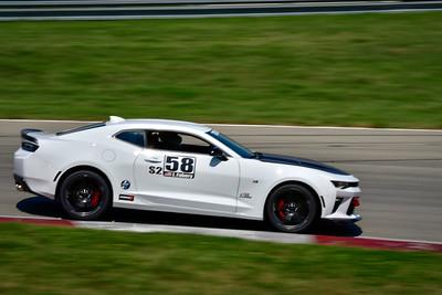 2021 SCCA Pitt Race TT Tour White Camaro 58