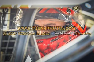 Matt Williamson  in car 4-10-21