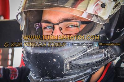 Jordan McCreadie  In car  4-10-21