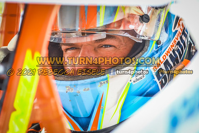 Jimmy Phelps  in car 4-10-21