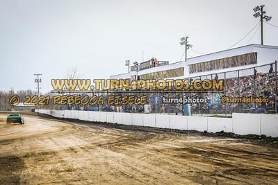 Prostock frontstretch grandstands 4-10-21