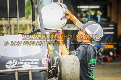 Logan Brown pits 8-28-