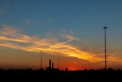 DA040,DP,Silhouette_Sunset_Iowa
