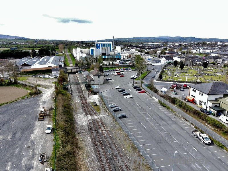 Overview of Nenagh Station. Thurs 08.04.21