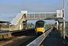 22015 arrives at Limerick Jct. with the 0900 Heuston - Cork. Fri 29.01.21