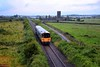 2812 + 2811 pass Clare Abbey near journeys end with the 2030, deferred to 2040 Limerick - Ennis service. Sat 03.07.21