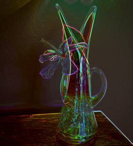 Still Life - intentional double exposure