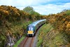22040 is pictured at Ballybrack with the 0950 Portlaoise - Tralee service. Sun 02.05.21