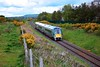 22009 is pictured passing Maddams Hill Bridge with the 1150 Tralee - Cork service. Due to engineering works between Sallins and Heuston this service, which normally operates to Dublin Heuston was diverted to Cork. Sun 02.05.21