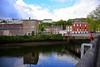 St Vincent's Bridge in Cork spans the North Channel of the River Lee. Sat 01.05.21