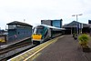 22027 + 22058 stand in Cork after arriving with the 1125 Newbridge - Cork. Sat 01.05.21